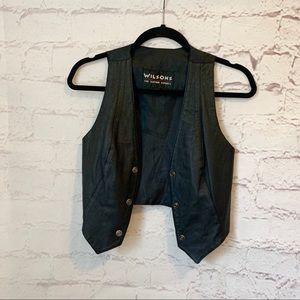Vintage Wilson's Leather Vest